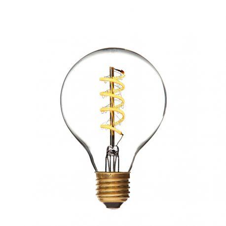Danlamp LED Globe De Luxe Spiral - E27 4W