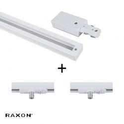 Raxon Flat P2 120 cm - Hvid