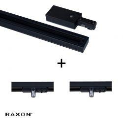 Raxon Flat P2 120 cm - Sort