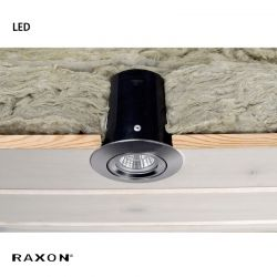 Raxon LD800 SafeSpot LED GU10 - Satin chrom