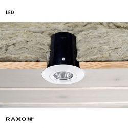 Raxon LD800 SafeSpot LED GU10 - Hvid