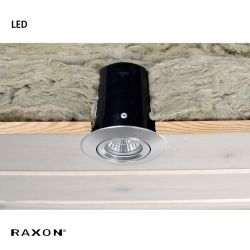 Raxon LD800 SafeSpot LED GU10 - Alu