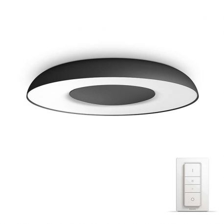 Philips Hue Connected Still Plafond - Sort