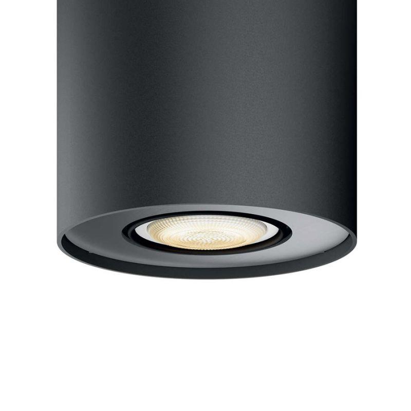 philips hue pillar spot sort hue lamper lys. Black Bedroom Furniture Sets. Home Design Ideas