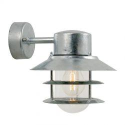 Blokhus væglampe - Galvaniseret