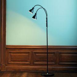 Denver LED gulvlampe - Sort