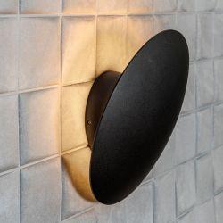 Light-Point Madison W1 LED væglampe - Sort/guld