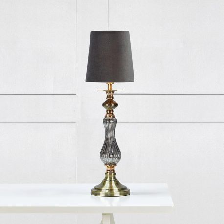 Markslöjd Heritage bordlampe - Grå