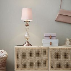Markslöjd Heritage bordlampe - Pink