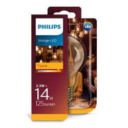 Philips LED Classic Filament Gold 2,3W (14W) E27