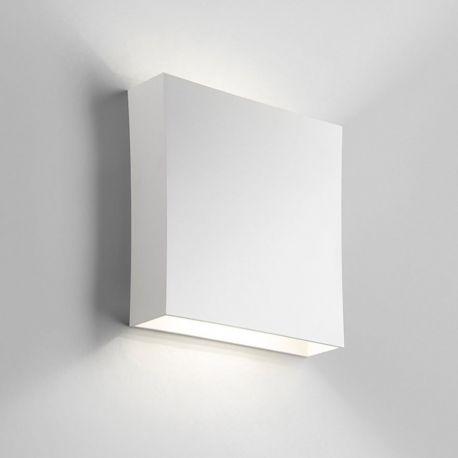 Compact W3 LED væglampe - Hvid