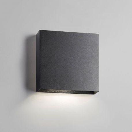 Compact Down W3 LED væglampe - Sort