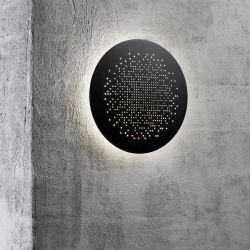 Nordlux Hunt 19 LED væglampe - Sort