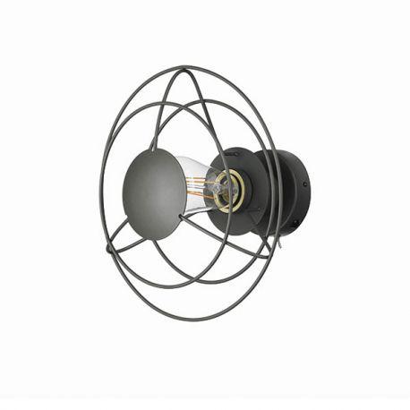 WATT A LAMP Radio væglampe - Mørkegrå
