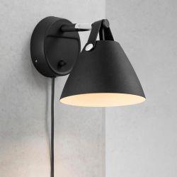 Nordlux Strap væglampe - Sort