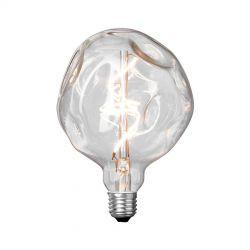 Stone Model One/klart glas LED dekorationspære - E27