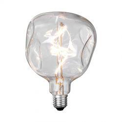 Stone Model Two/klart glas LED dekorationspære - E27
