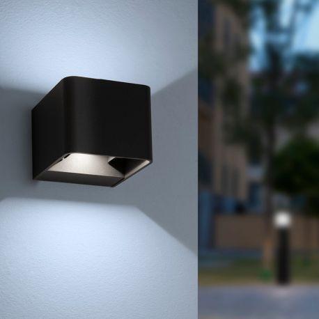Su & Giu LED W1 væglampe - Sort