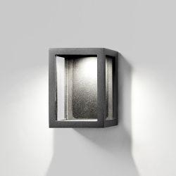 Light-Point Lantern W1 væglampe - Sort
