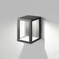 Light-Point Lantern W2 væglampe - Sort