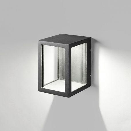 Light-Point Lantern W2 væglampe - Sort
