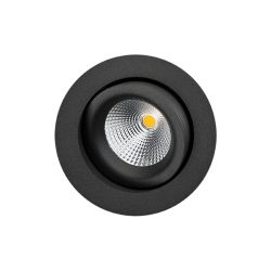 SG Junistar Gyro Outdoor spot 6W LED 2700K - Mat sort