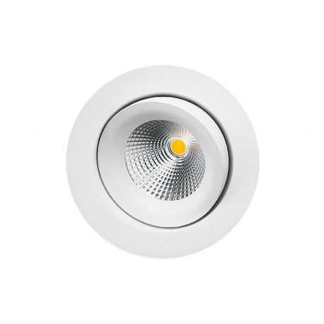 SG Gyro IsoSafe spot 6W LED 2700K - Mat hvid