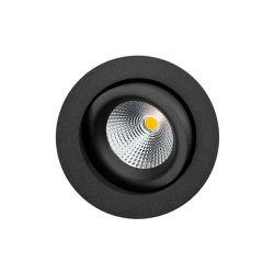 SG Gyro IsoSafe spot 6W LED 2700K - Mat sort