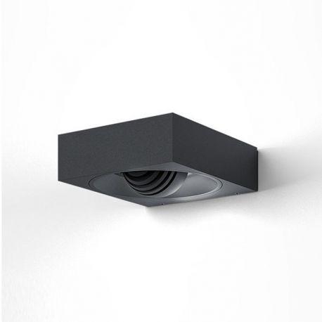 PIP udendørs væglampe - Antracit