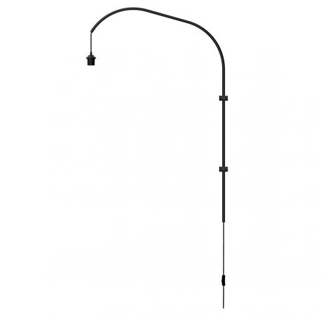 UMAGE Willow vægophæng enkelt - Sort