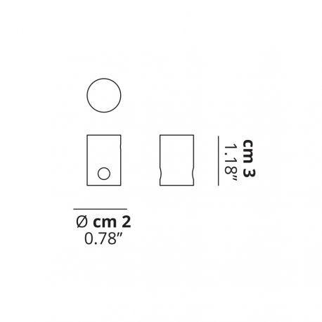 Studio Italia Design Decentralization Cylinder (loftanker) - Klar