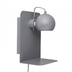 Frandsen Ball m. USB stik - Mat grå