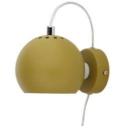 Frandsen Ball væglampe - Olive green