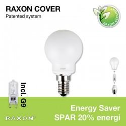 E14 Globe-cover Ø4,5 +33W Energy Saver