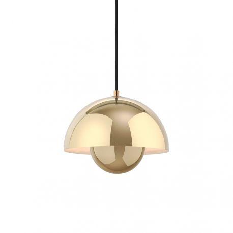 Verner Panton Flowerpot VP1 - Polished Brass