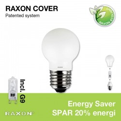 E27 Globe-cover Ø4,5 +33W Energy Saver