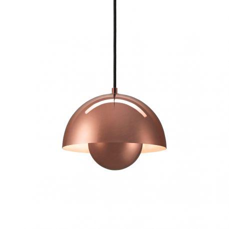 Verner Panton Flowerpot VP1 - Polished Copper