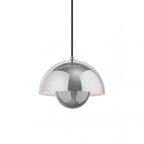 Verner Panton Flowerpot VP1 - Polished Stainless Steel