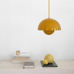 Verner Panton Flowerpot VP1 - Mustard