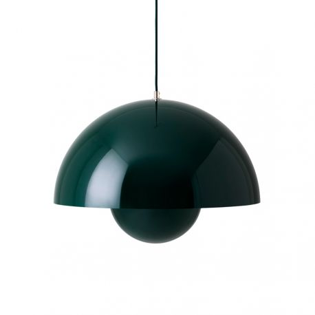Flowerpot VP2 pendel - Dark Green