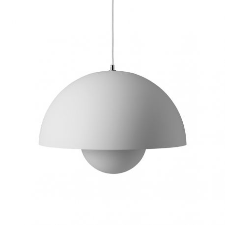Flowerpot VP2 pendel - Matt Light Grey