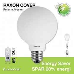 E27 Globe-cover Ø9,5 +48W Energy Saver