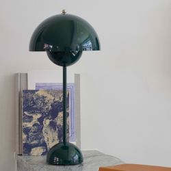 Flowerpot VP3 bordlampe - Dark Green