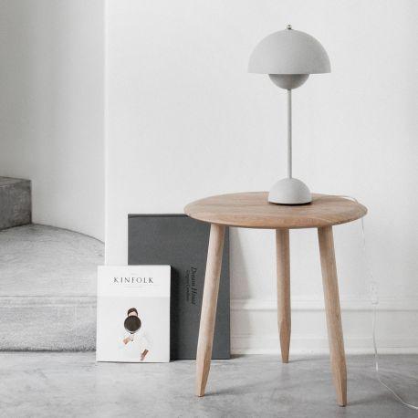 Flowerpot VP3 bordlampe - Matt Light Grey