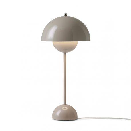 Flowerpot VP3 bordlampe - Grey Beige