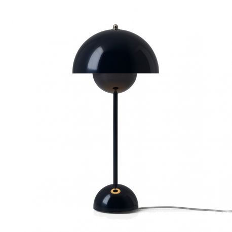 Flowerpot VP3 bordlampe - Black Blue