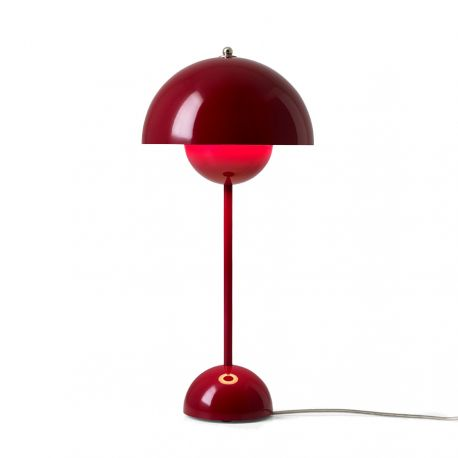 Flowerpot VP3 bordlampe - Deep Red