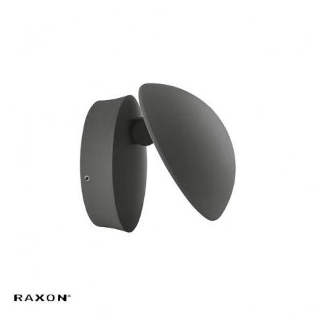 Raxon Indirect LED væglampe 13W/3000K IP54 - Antracit