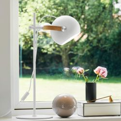 Halo Design DC bordlampe - Hvid