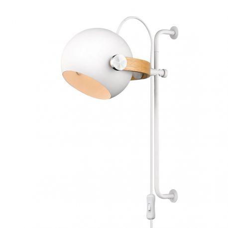 Halo Design DC væglampe Ø18 - Hvid